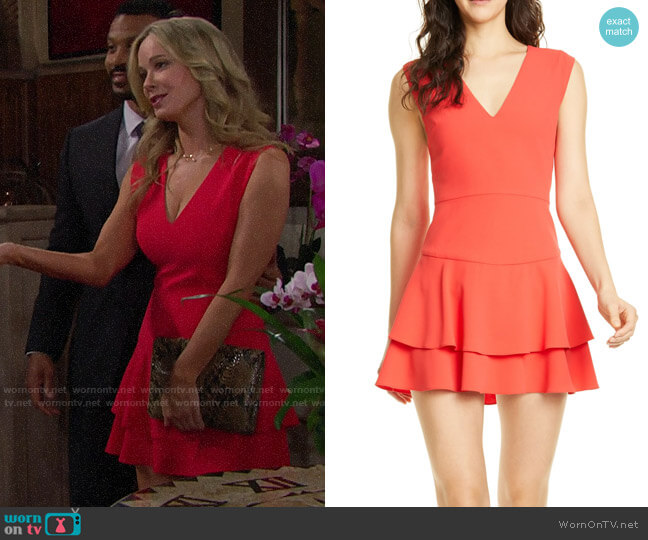 Alice + Olivia Palmira Dress worn by Donna Logan (Jennifer Gareis) on The Bold & the Beautiful