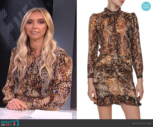 Rackel Dress by Ba&Sh worn by Giuliana Rancic  on E! News