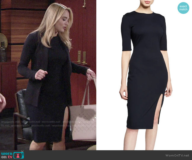 Bailey 44 Vive La Difference Dress worn by Summer Newman (Hunter King) on The Young & the Restless