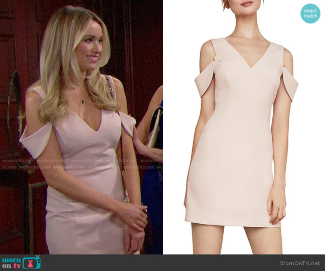 Bcbgmaxazria Eve Dress worn by Florence (Katrina Bowden) on The Bold & the Beautiful