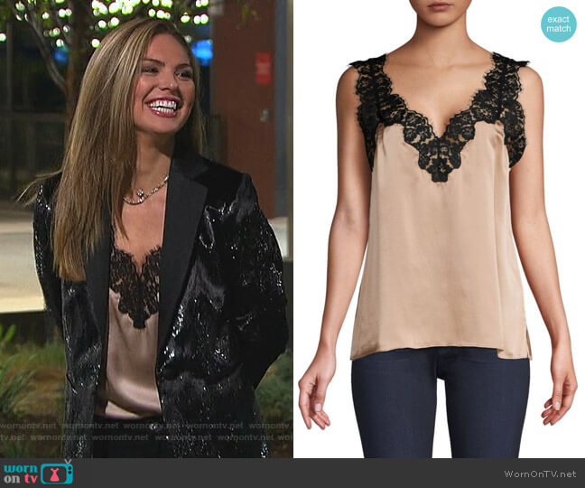 Leia Cami by Cami NYC worn by Hannah Brown  on The Bachelorette