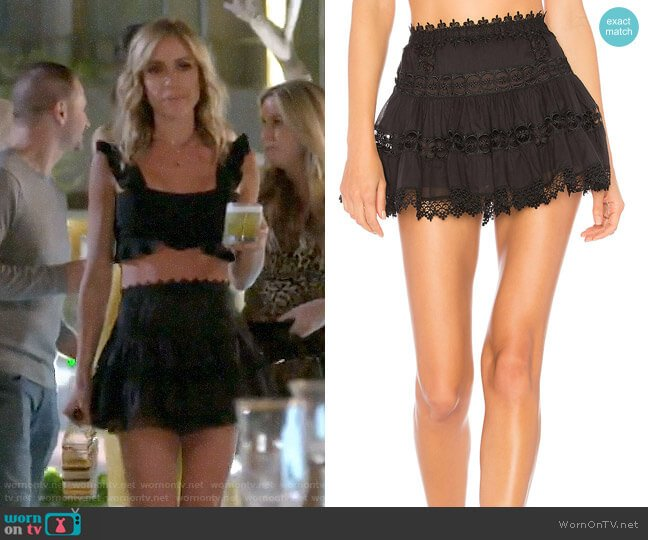 Charo Ruiz Ibiza Greta Skirt worn by Kristin Cavallari  on Very Cavallari