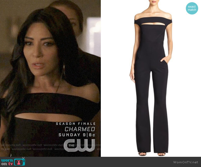 Chiara Boni La Petite Robe Rebecca Jumpsuit worn by Hermione Lodge (Marisol Nichols) on Riverdale