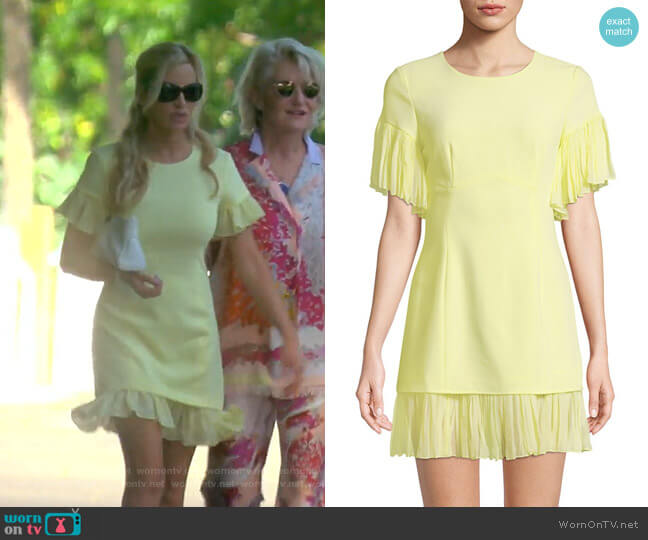 Rosaria Dress by Cinq a Sept worn by Camille Grammer  on The Real Housewives of Beverly Hills