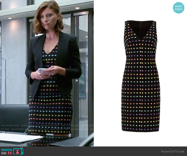 Diane von Furstenberg Minetta Dress worn by Peyton Charles (Aly Michalka) on iZombie