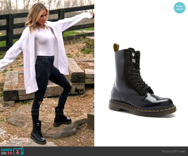 Dr Martens x Marc Jacobs Ankle Boots worn by Kristin Cavallari  on Very Cavallari