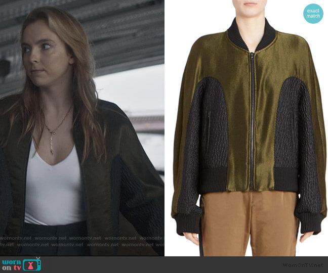 Bomber Jacket by Dries Van Noten worn by Villanelle (Jodie Comer) on Killing Eve