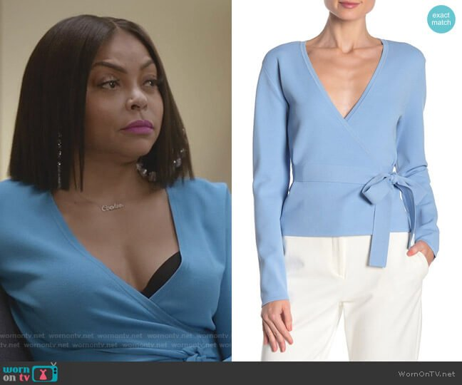 Linda Sweater by Diane von Furstenberg worn by Cookie Lyon (Taraji P. Henson) on Empire