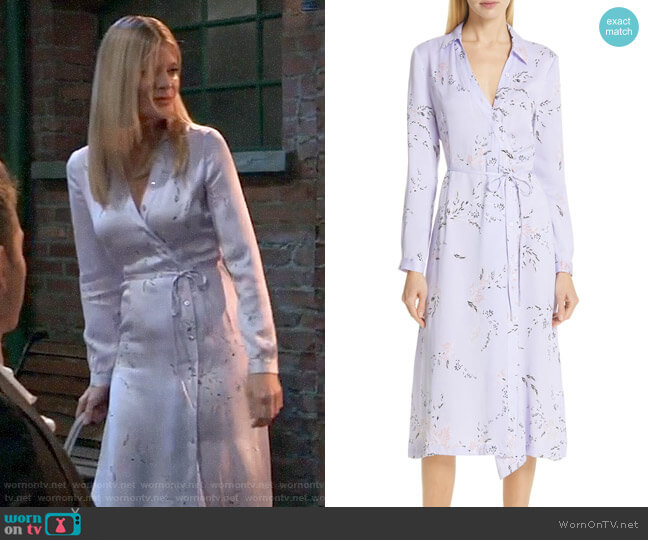 Equipment Fabienne Dress worn by Nina Reeves (Michelle Stafford) on General Hospital