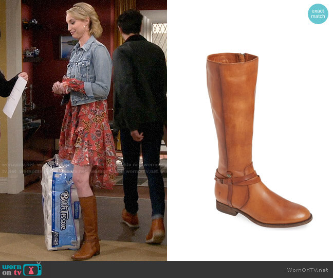 Frye Melissa Boots worn by Mandy Baxter (Molly McCook) on Last Man Standing