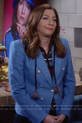 Gina's blue blazer on Brooklyn Nine-Nine