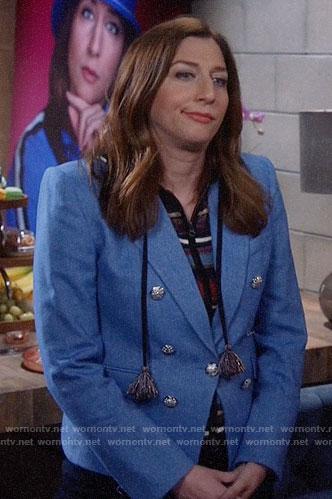 Gina's blue blazer on Brooklyn Nine-Nine