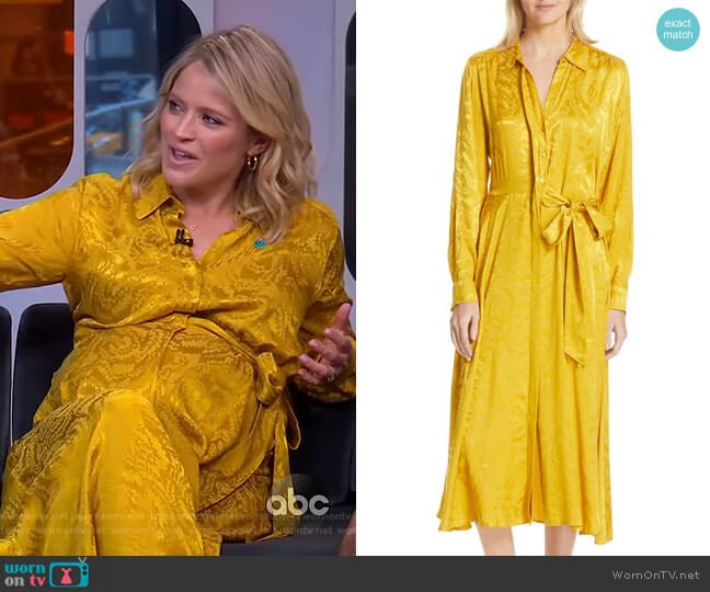 Baily Dress by Stine Goya worn by Sara Haines  on Good Morning America