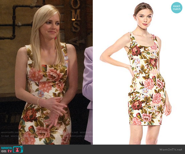 Guess Chantel Dress worn by Christy Plunkett (Anna Faris) on Mom