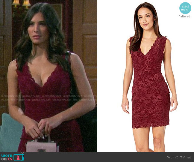Guess Drea Dress worn by Gabi Hernandez (Camila Banus) on Days of our Lives