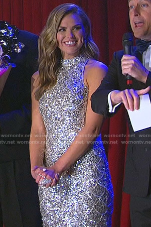 Hanna's sequin gown on The Bachelorette