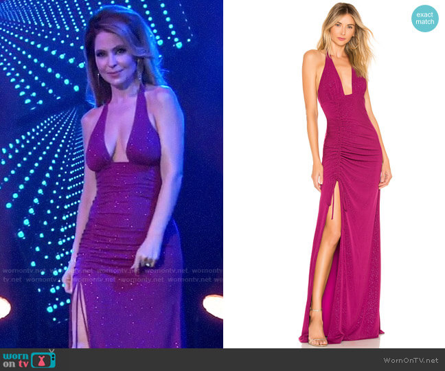 h:ours Alfie Gown worn by Olivia Falconeri (Lisa Lo Cicero) on General Hospital