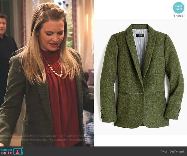 Parke Blazer in English Wool by J.Crew worn by Liz (Melissa Joan Hart) on No Good Nick