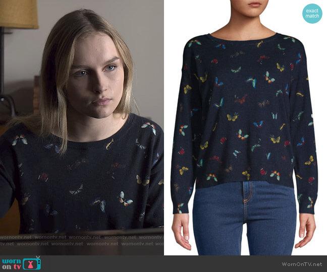 Eloisa Sweater by Joie worn by Elle (Olivia DeJone) on The Society