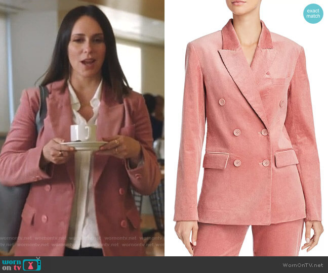 Markina Corduroy Blazer by Joie worn by Maddie Kendall (Jennifer Love Hewitt) on 9-1-1