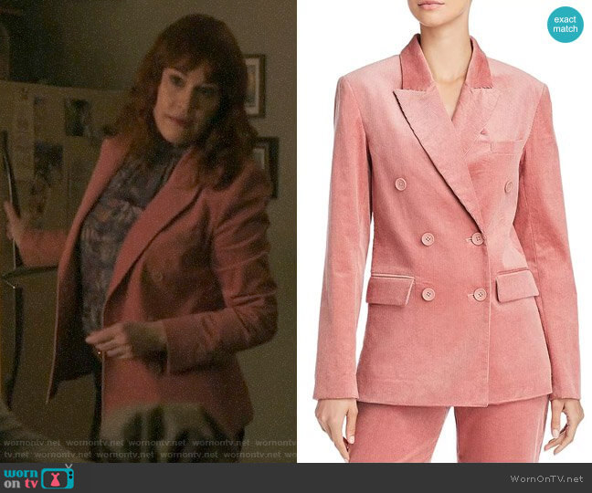 Joie Markina Corduroy Blazer worn by Mary Andrews (Molly Ringwald) on Riverdale