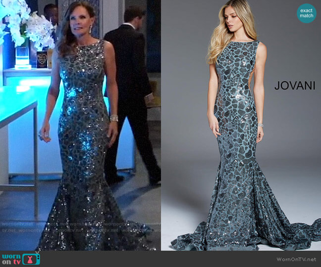 Jovani 61229 Dress worn by Lucy Coe (Lynn Herring) on General Hospital