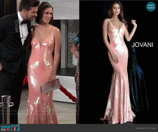 Jovani 65070 Gown worn by Willow Tait (Katelyn MacMullen) on General Hospital