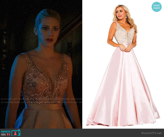 Jovani JVN60696 Gown worn by Betty Cooper (Lili Reinhart) on Riverdale