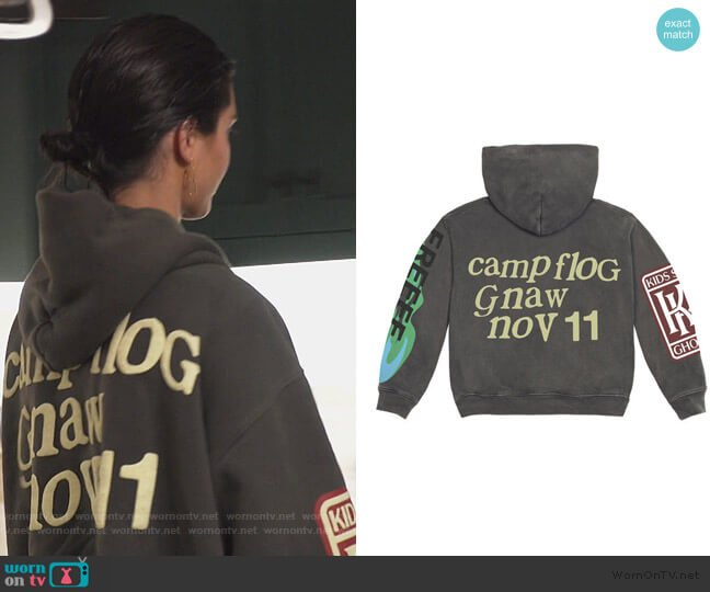 Kids See Ghosts Sweater by Kane West worn by Kendall Jenner  on Keeping Up with the Kardashians