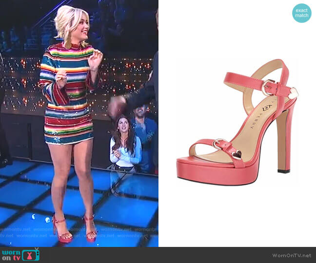 The Noelle Sandals by Katy Perry worn by Katy Perry  on American Idol