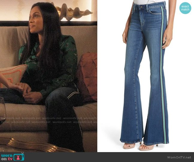 L'Agence Solana Jeans worn by Jane Ramos (Rosario Dawson) on Jane the Virgin