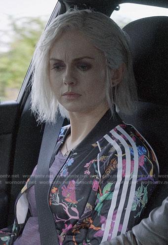 Liv's floral Adidas jacket on iZombie