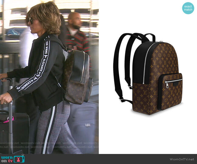 Josh Bag by Louis Vuitton worn by Lisa Rinna  on The Real Housewives of Beverly Hills