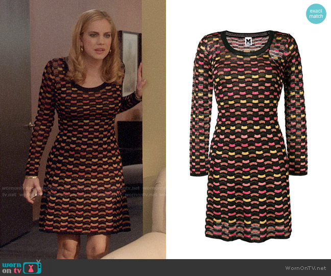 M Missoni Wave Knit Sweater Dress worn by Amy Brookheimer (Anna Chlumsky) on Veep