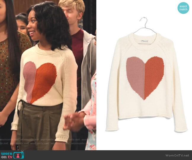 Keaton Sweater by Madewell worn by Becky (Kyla-Drew) on No Good Nick