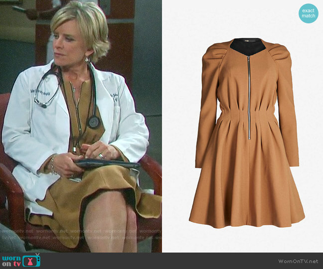 Maje Rangia Dress worn by Kayla Brady (Mary Beth Evans) on Days of our Lives