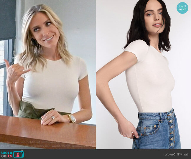 Marissa Webb Dani Bodysuit worn by Kristin Cavallari  on Very Cavallari