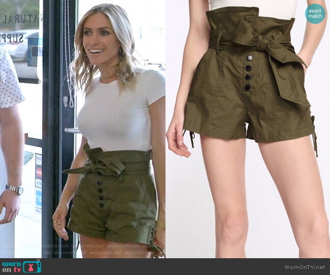 Marissa Webb Gia Shorts worn by Kristin Cavallari  on Very Cavallari