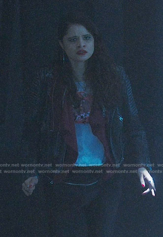 Mel's leather jacket on Charmed