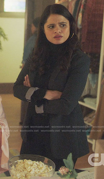 Mel's pinstripe blazer on Charmed