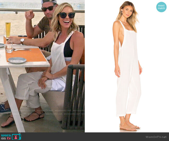 Mikoh Sayama Jumpsuit worn by Kristin Cavallari  on Very Cavallari