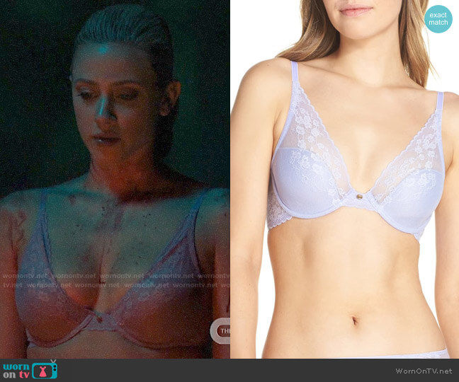 Natori Cherry Blossom Underwire Bra worn by Betty Cooper (Lili Reinhart) on Riverdale