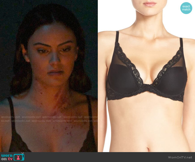 Natori Feathers Underwire Contour Bra worn by Veronica Lodge (Camila Mendes) on Riverdale