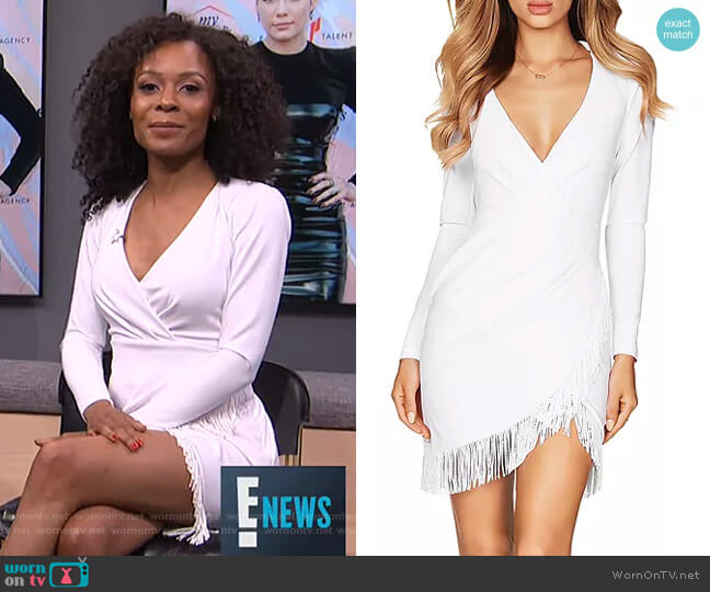 Fever Dress by Nookie worn by Zuri Hall  on E! News