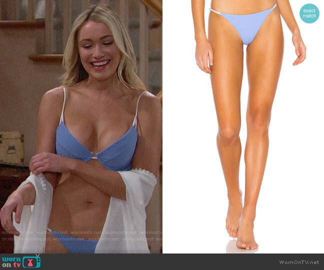 Onia Rochelle Bikini Bottoms worn by Florence (Katrina Bowden) on The Bold & the Beautiful