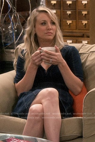 Penny's denim dress on The Big Bang Theory