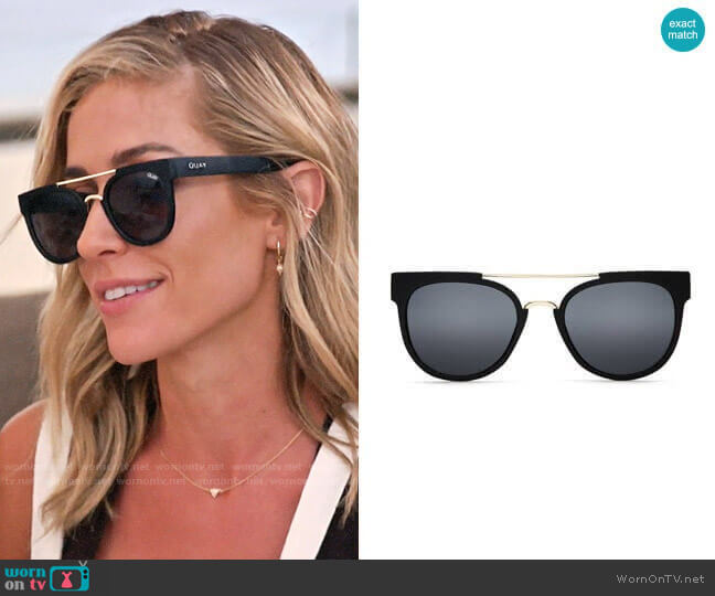 Quay Odin Sunglasses worn by Kristin Cavallari  on Very Cavallari