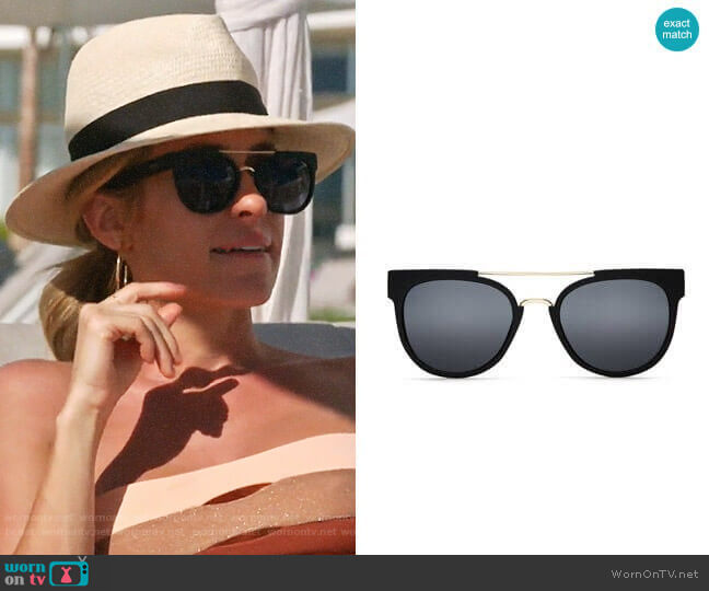 Quay Odin Sunglasses worn by Kristin Cavallari (Kristin Cavallari) on Very Cavallari