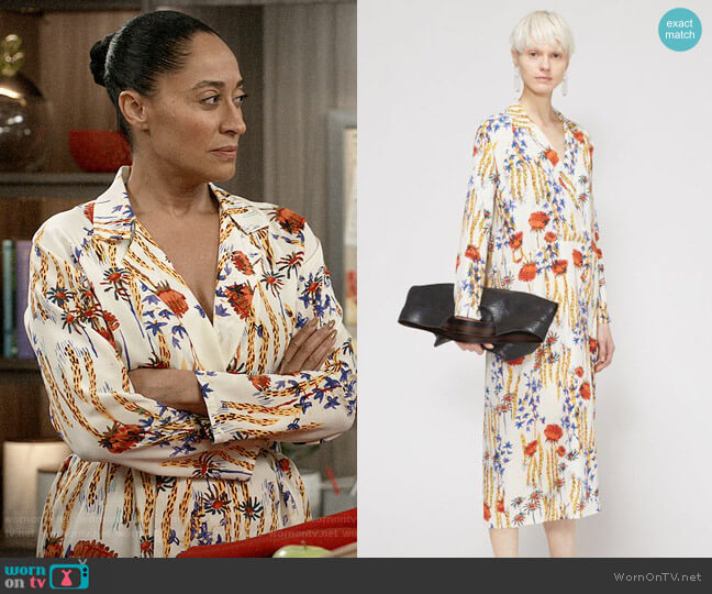 Rachel Comey Sunder Dress worn by Rainbow Johnson (Tracee Ellis Ross) on Blackish
