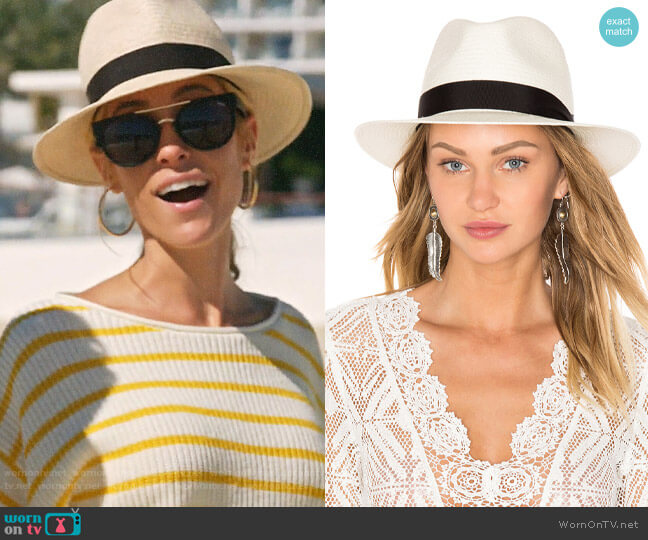 Rag & Bone Panama Hat worn by Kristin Cavallari  on Very Cavallari